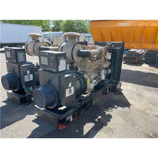 2009 EGGA EG SERIES 280L-250N CLASS H, 3 PHZ, 50HZ, 1500 RPM DIESEL INDUSTRIAL GENERATOR