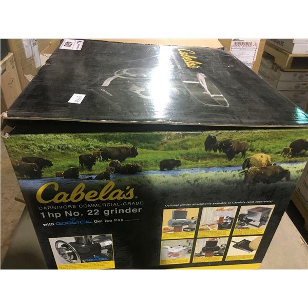 CABELA'S 1HP NO#22 MEAT GRINDER