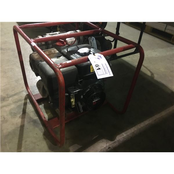 MQ CONTRACTOR PUMP MODEL QP-3TH WITH HONDA GX270 9.0HP MOTOR