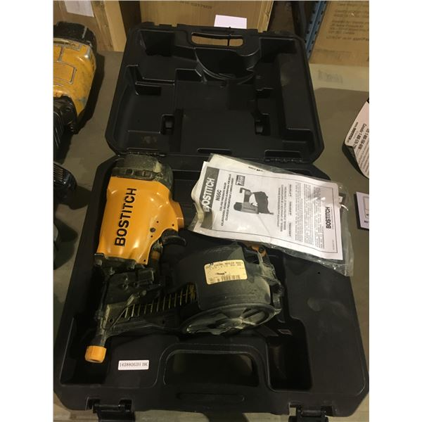 BOSTITCH COIL ROOFING NAIL GUN WITH CASE