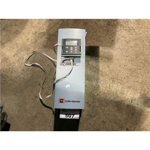 CUTTLER-HAMMER SV9000 AC DRIVE WITH WALL CONTROLLER