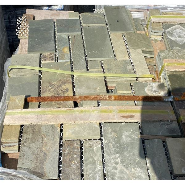 A pallet of Stone tiles (approx. 160 pieces)