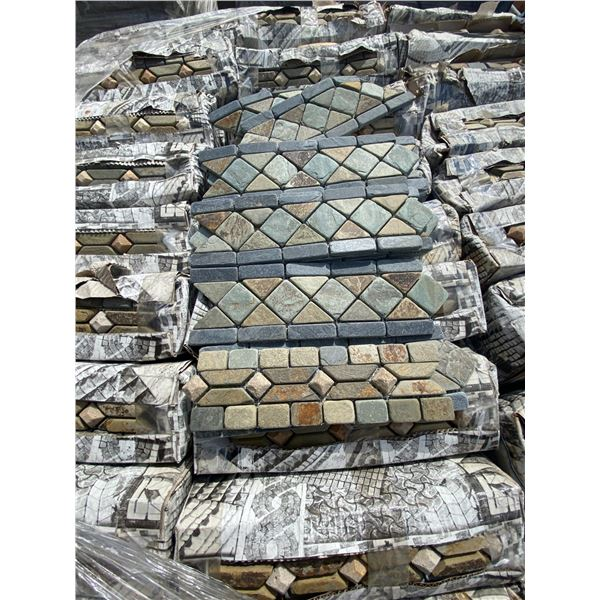 A pallet of Stone tiles