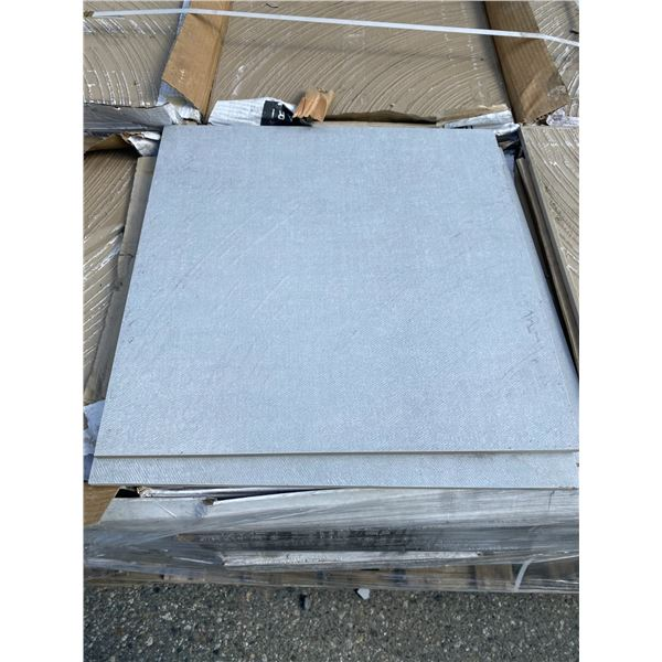 A pallet of porcelain tiles