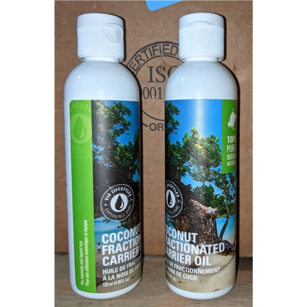 2 Large Boxes of Coconut Aromatic Oils (Approx. 300 Bottles)