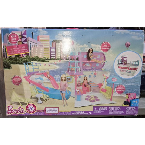 Barbie Playset, Luvabella Doll and Pikmi Pop Toy