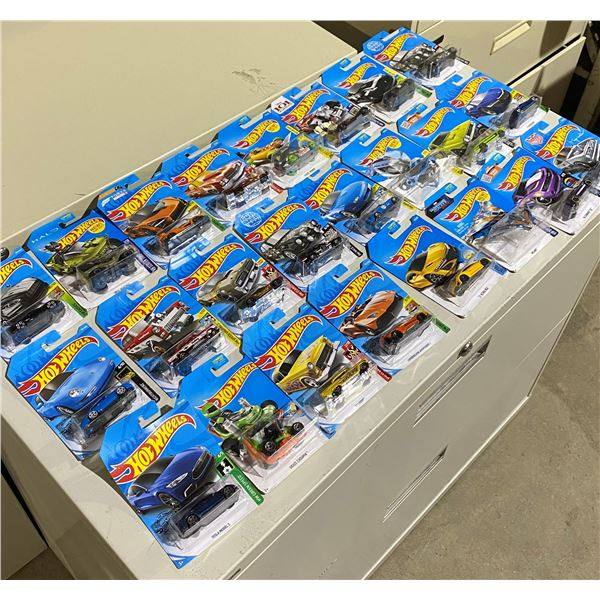 Lot of 24 Brand New Hot Wheels Sealed in Box