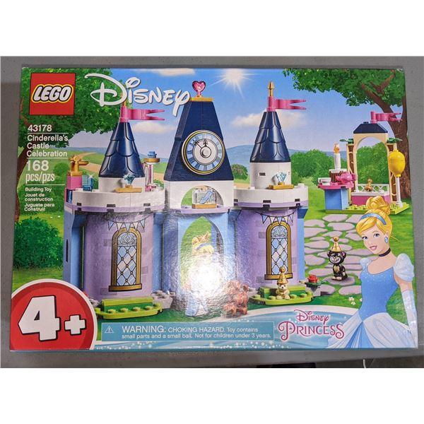 New Lego Disney Cinderella Castle Celebration 43178