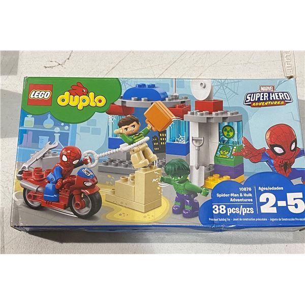 New lego Spiderman and hulk adventures 10876