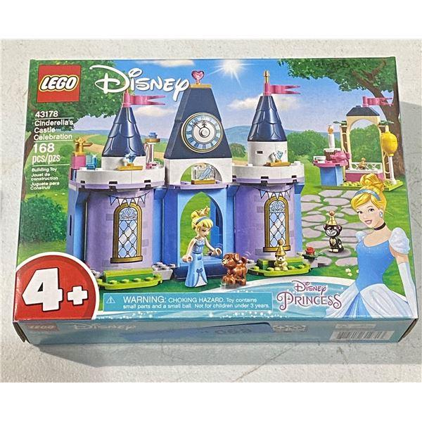 New lego Disney 43178 Cinderella's castle celebration