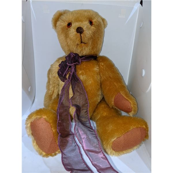 Collectible STEIFF Four vintage teddy bears - collectible stuffed toys