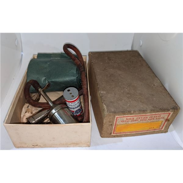 small box of vintage misc