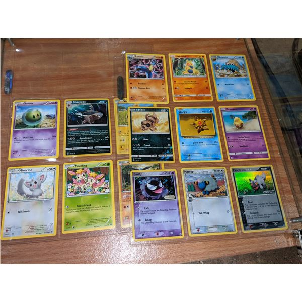Pokemon cards (approx. 15 cards)