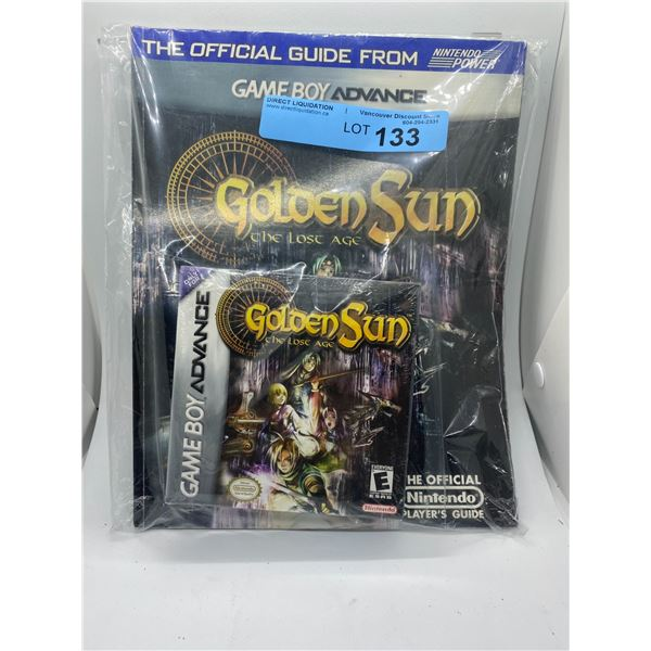 Nintendo Golden Sun - the lost age game and strategy guide