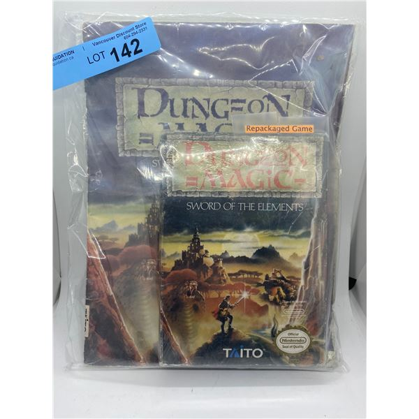 Nintendo dungeon magic repackaged game and strategy guide