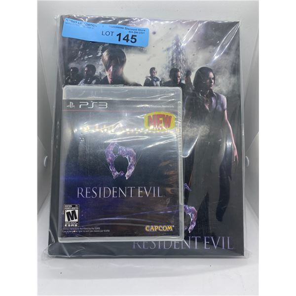 PS3 resident evil game and strategy guide