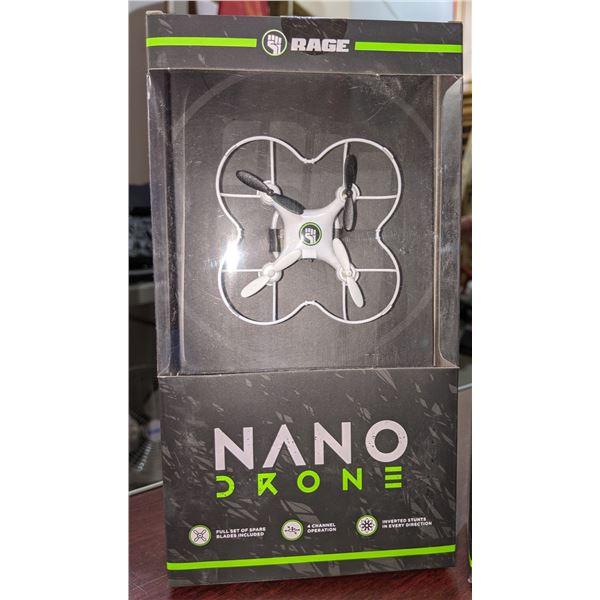 two Nano drones