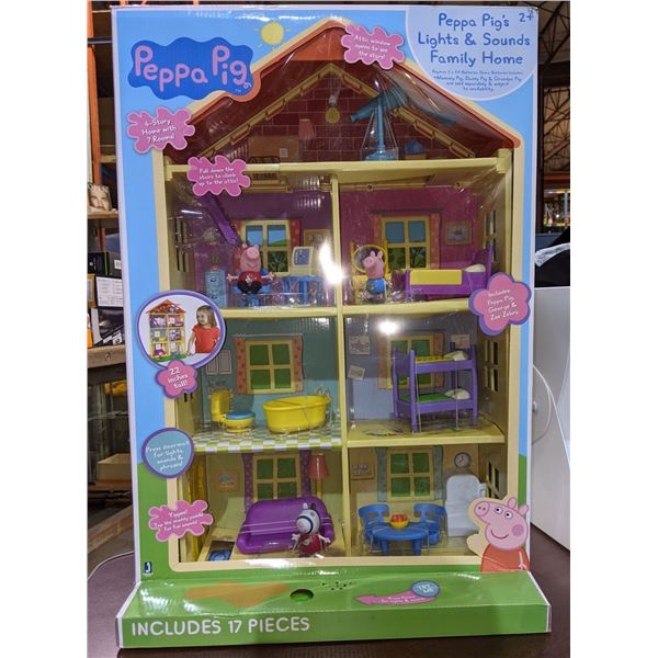 Lot of toys including Peppa pig dollhouse zoom 'n crawl Monster, talking and crawling doll, Pikachu