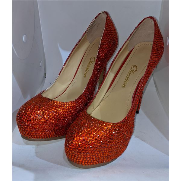 Four Pairs of Obsession High Heels Shoes  Sizes:37 - 38 - 41 -  41