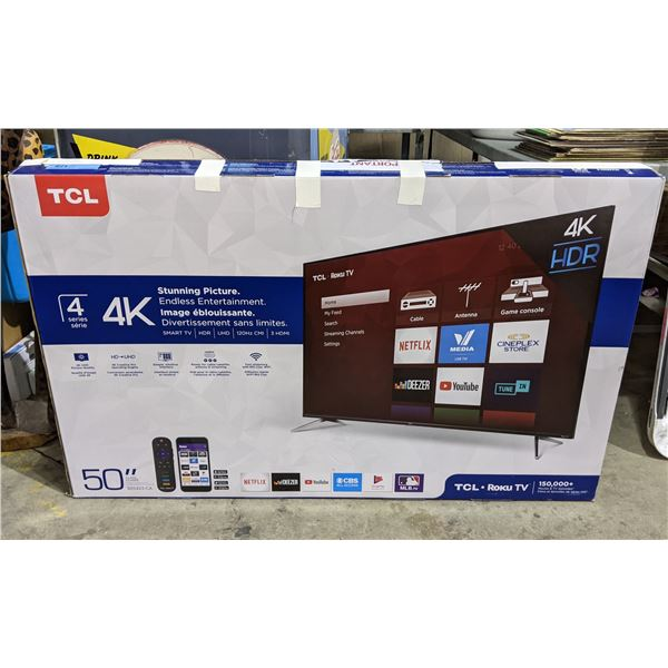 TCL 50 inch TV