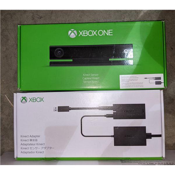 keyboard Xbox Kinect sensor and Xbox Kinetic adapter
