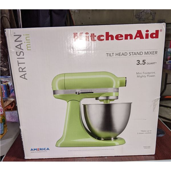KitchenAid tilt head stand mixer Artisan Mini