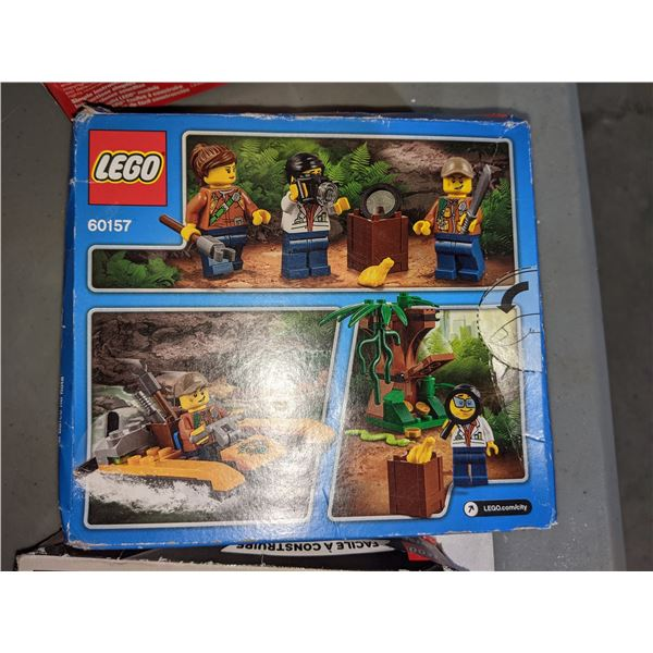 assorted Lego toys approx 7 pieces