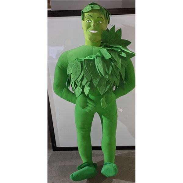 """Jolly Green giant stuffed doll - approx 54"""" tall x 2ft wide"""