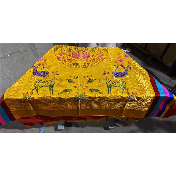 """Asian Curtain Tapestry Aprox. 70"""" x 57"""""""