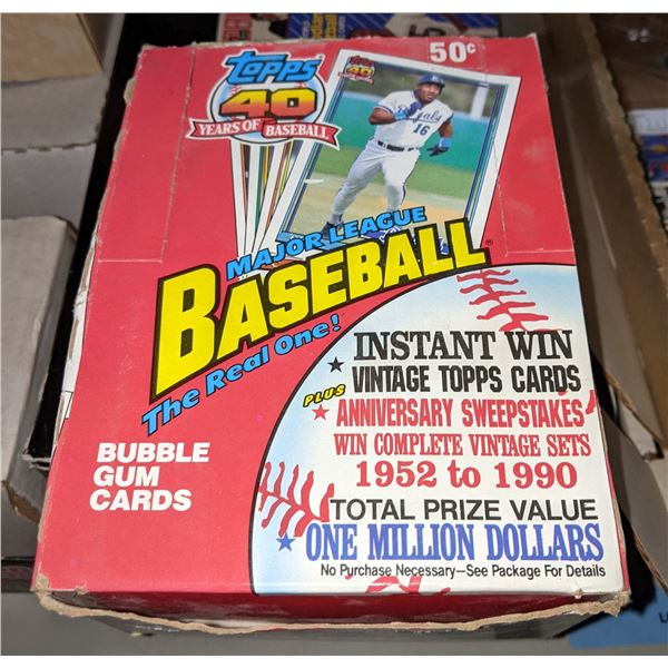 assorted sports cards and memorabilia