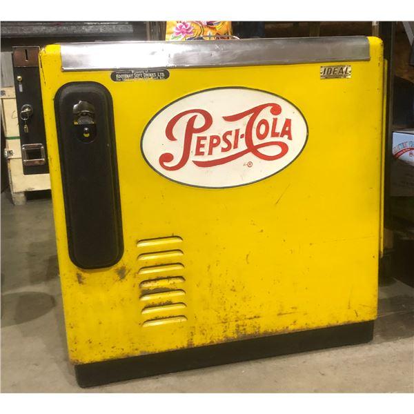 Vintage Yellow Pepsi Dispenser