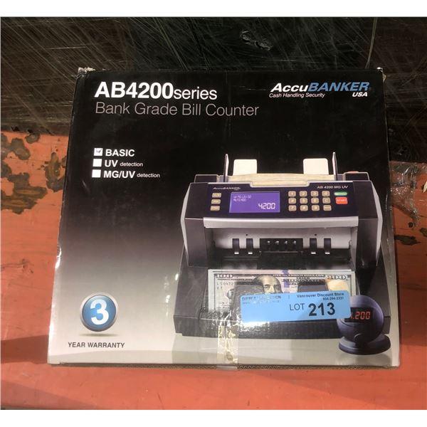 Money Counter Open Box AB4200 Series