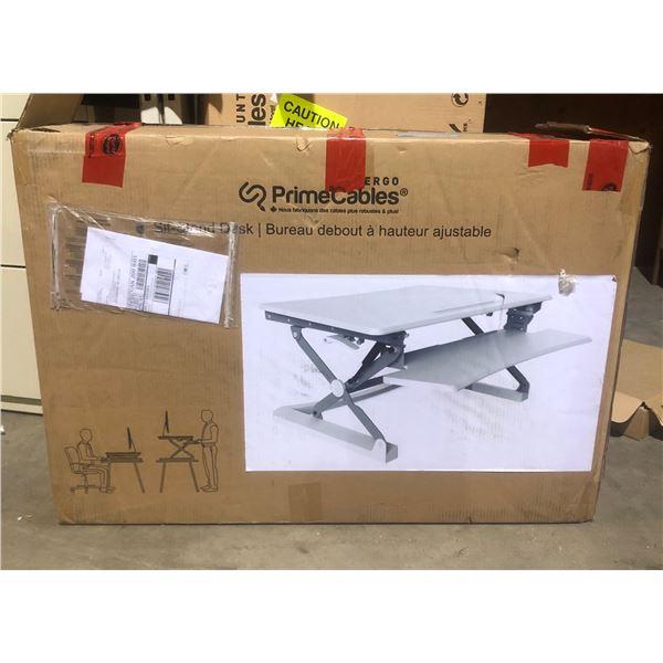 Prime cables sit stand desk 26 1/2 kilos 96x21.5x66 cm