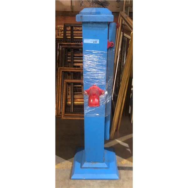 Reproduction wood water pump