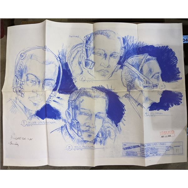 The Outer Limits - Head Lites Ideas Drawing