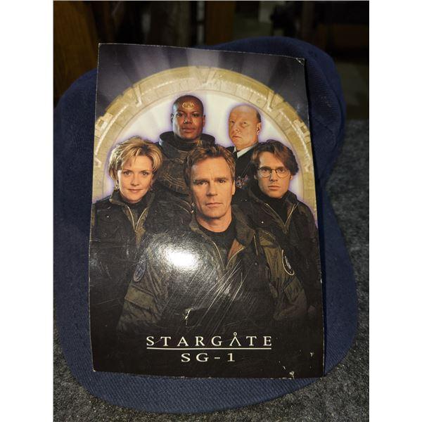 Stargate SG-1 Crew Cap & Signed Photograph