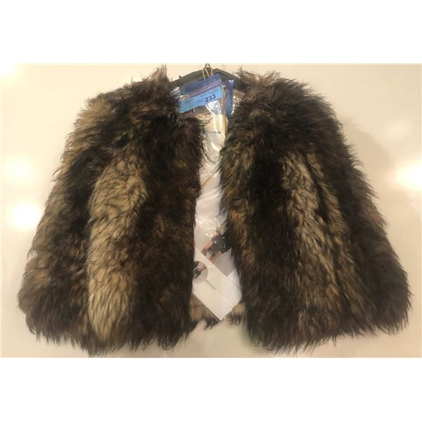 Fur Jacket with Costume Jewelry from Show
