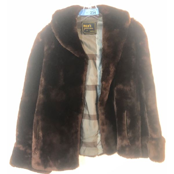 Rice's Fur jacket PROJECT BLUE BOOK