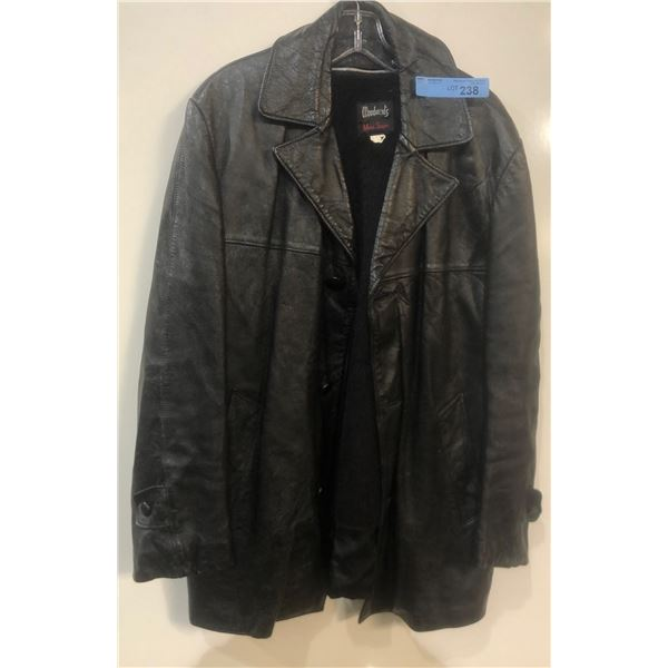 Woodwards Leather Jacket Size 42 from the show