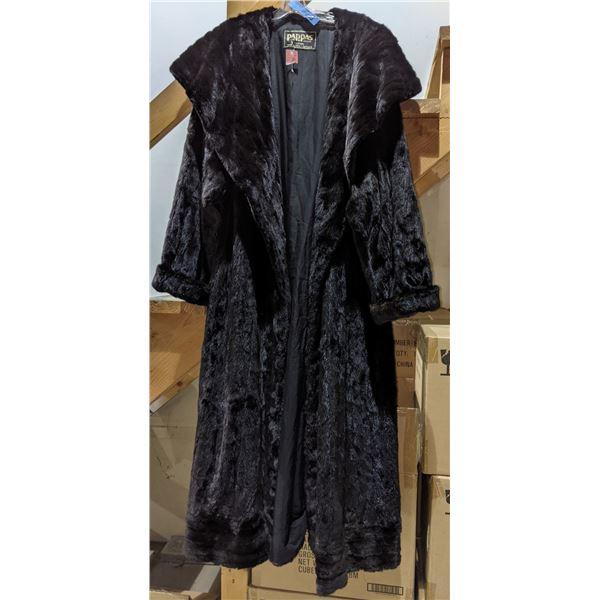 Vintage Mink Fur Oversized Coat