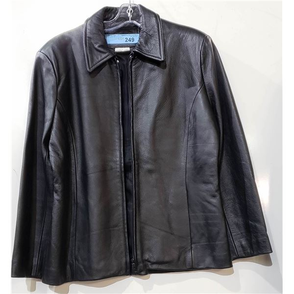 Bishop Leather Jacket Size 10