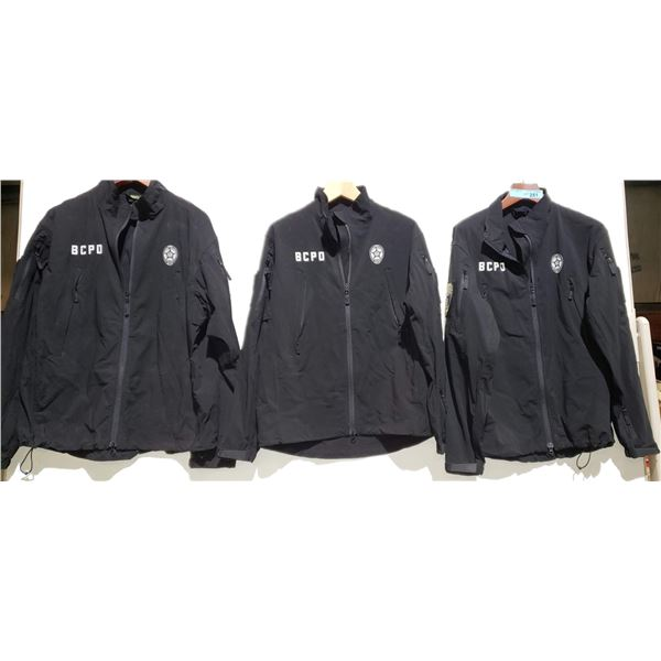 Set of 3 Police Tops BCPD from the show
