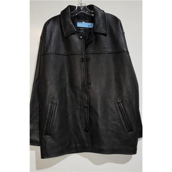Bishop Leather Jacket Size Large