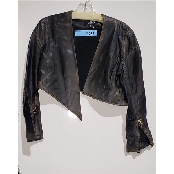 Primary New York Leather Jacket Size Medium