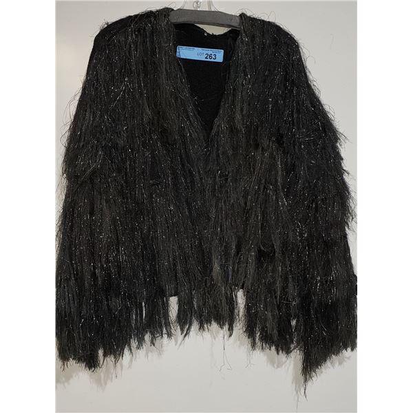 Long Glitter Tassle Jacket