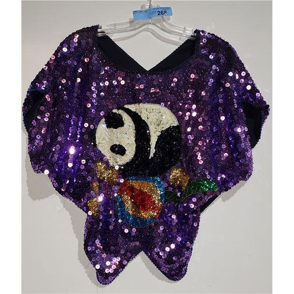 Glitter Panda Top