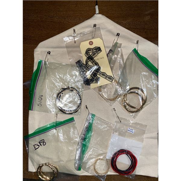 Lot of Costume Jewelry from The Show Approx.. 30 Pieces
