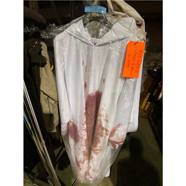 Assorted Set of Bloody Robes from Show Approx.. 7 Pieces