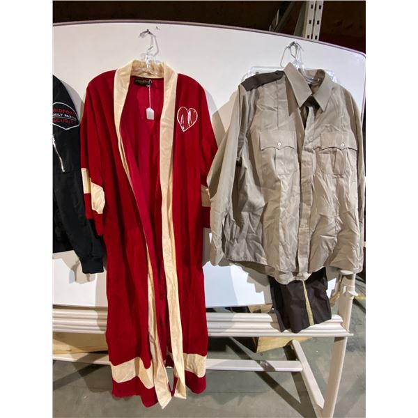 Assorted Costumes (Security, Delivery) from Show. Approx.. 10 Pieces