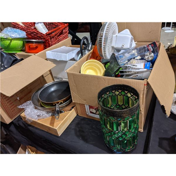 Lot of Assorted Household Goods